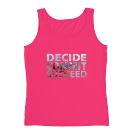 Decide Commit Succeed High Quality Ladies' Tank